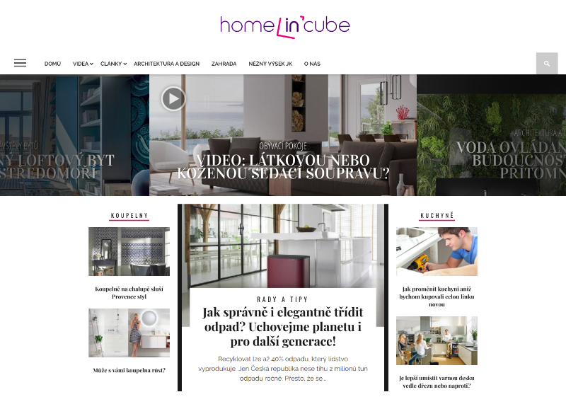 HomeInCube Wordpress