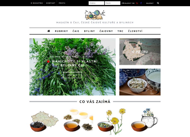 Icajove-more.cz wordpress web